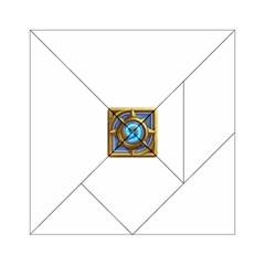 Hearthstone Update New Features Appicon 110715 Acrylic Tangram Puzzle (6  x 6 )