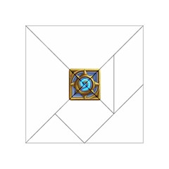Hearthstone Update New Features Appicon 110715 Acrylic Tangram Puzzle (4  X 4 )