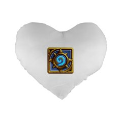 Hearthstone Update New Features Appicon 110715 Standard 16  Premium Heart Shape Cushions