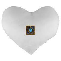 Hearthstone Update New Features Appicon 110715 Large 19  Premium Heart Shape Cushions