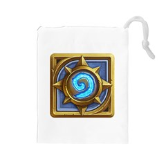 Hearthstone Update New Features Appicon 110715 Drawstring Pouches (large)