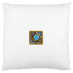 Hearthstone Update New Features Appicon 110715 Large Flano Cushion Cases (one Side)