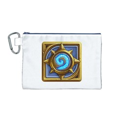 Hearthstone Update New Features Appicon 110715 Canvas Cosmetic Bag (M)