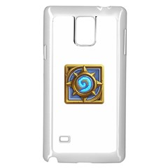 Hearthstone Update New Features Appicon 110715 Samsung Galaxy Note 4 Case (White)