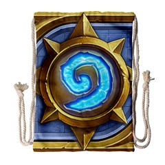 Hearthstone Update New Features Appicon 110715 Drawstring Bag (large)