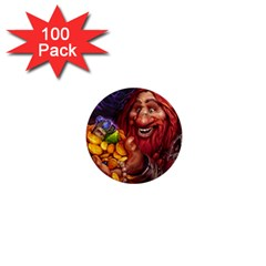 Hearthstone Gold 1  Mini Buttons (100 pack)