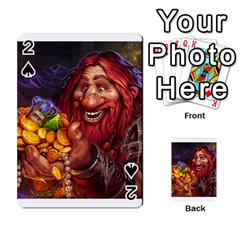 Hearthstone Gold Playing Cards 54 Designs