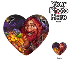 Hearthstone Gold Playing Cards 54 (Heart)