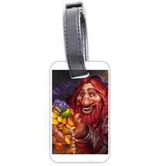 Hearthstone Gold Luggage Tags (One Side)