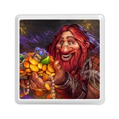 Hearthstone Gold Memory Card Reader (square)