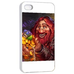 Hearthstone Gold Apple Iphone 4/4s Seamless Case (white)