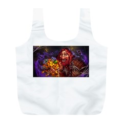 Hearthstone Gold Full Print Recycle Bags (l)