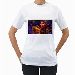 Hearthstone Gold Women s T-Shirt (White)