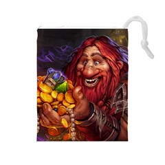 Hearthstone Gold Drawstring Pouches (large)