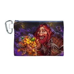 Hearthstone Gold Canvas Cosmetic Bag (m)