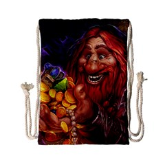 Hearthstone Gold Drawstring Bag (Small)