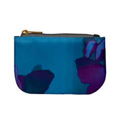 Purple and Turquoise Butterflies Mini Coin Purses