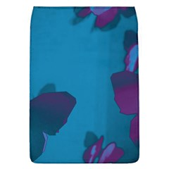 Purple and Turquoise Butterflies Flap Covers (L)