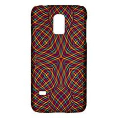 Trippy Tartan Samsung Galaxy S5 Mini Hardshell Case
