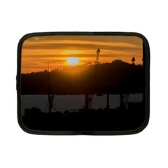 Aerial View Sunset Scene Of Montevideo Uruguay Netbook Case (Small)