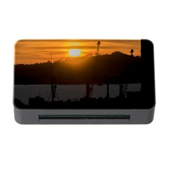 Aerial View Sunset Scene Of Montevideo Uruguay Memory Card Reader With Cf