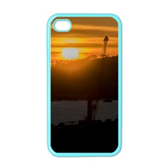 Aerial View Sunset Scene Of Montevideo Uruguay Apple iPhone 4 Case (Color)