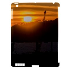Aerial View Sunset Scene Of Montevideo Uruguay Apple iPad 3/4 Hardshell Case (Compatible with Smart Cover)