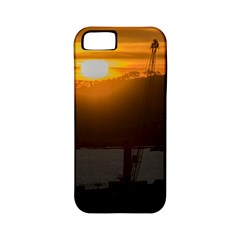 Aerial View Sunset Scene Of Montevideo Uruguay Apple iPhone 5 Classic Hardshell Case (PC+Silicone)