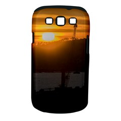 Aerial View Sunset Scene Of Montevideo Uruguay Samsung Galaxy S III Classic Hardshell Case (PC+Silicone)