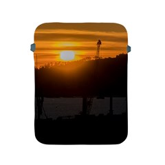 Aerial View Sunset Scene Of Montevideo Uruguay Apple iPad 2/3/4 Protective Soft Cases