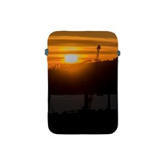 Aerial View Sunset Scene Of Montevideo Uruguay Apple iPad Mini Protective Soft Cases