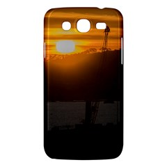 Aerial View Sunset Scene Of Montevideo Uruguay Samsung Galaxy Mega 5 8 I9152 Hardshell Case