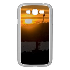 Aerial View Sunset Scene Of Montevideo Uruguay Samsung Galaxy Grand Duos I9082 Case (white)