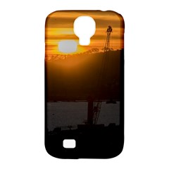 Aerial View Sunset Scene Of Montevideo Uruguay Samsung Galaxy S4 Classic Hardshell Case (PC+Silicone)