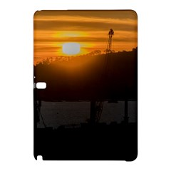 Aerial View Sunset Scene Of Montevideo Uruguay Samsung Galaxy Tab Pro 10 1 Hardshell Case