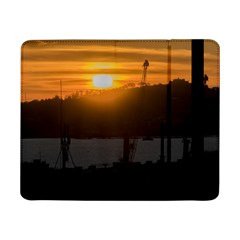 Aerial View Sunset Scene Of Montevideo Uruguay Samsung Galaxy Tab Pro 8.4  Flip Case