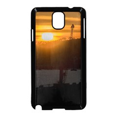 Aerial View Sunset Scene Of Montevideo Uruguay Samsung Galaxy Note 3 Neo Hardshell Case (Black)