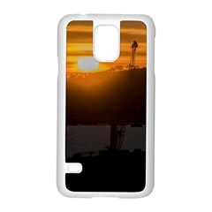 Aerial View Sunset Scene Of Montevideo Uruguay Samsung Galaxy S5 Case (white)