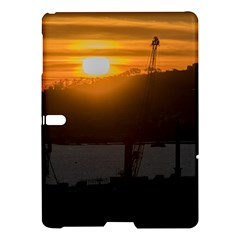 Aerial View Sunset Scene Of Montevideo Uruguay Samsung Galaxy Tab S (10 5 ) Hardshell Case