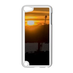 Aerial View Sunset Scene Of Montevideo Uruguay Apple iPod Touch 5 Case (White)