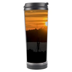 Aerial View Sunset Scene Of Montevideo Uruguay Travel Tumblers