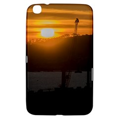 Aerial View Sunset Scene Of Montevideo Uruguay Samsung Galaxy Tab 3 (8 ) T3100 Hardshell Case