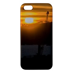 Aerial View Sunset Scene Of Montevideo Uruguay iPhone 5S Premium Hardshell Case