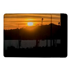 Aerial View Sunset Scene Of Montevideo Uruguay Samsung Galaxy Tab Pro 10.1  Flip Case