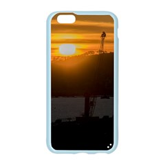 Aerial View Sunset Scene Of Montevideo Uruguay Apple Seamless iPhone 6/6S Case (Color)