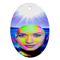Sunshine Illumination Ornament (Oval)