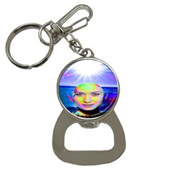 Sunshine Illumination Bottle Opener Key Chains
