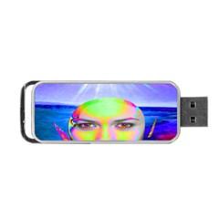 Sunshine Illumination Portable Usb Flash (one Side)