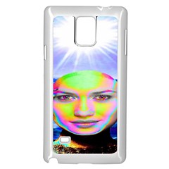 Sunshine Illumination Samsung Galaxy Note 4 Case (White)