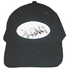 Buffalo / Bison gift Black Cap